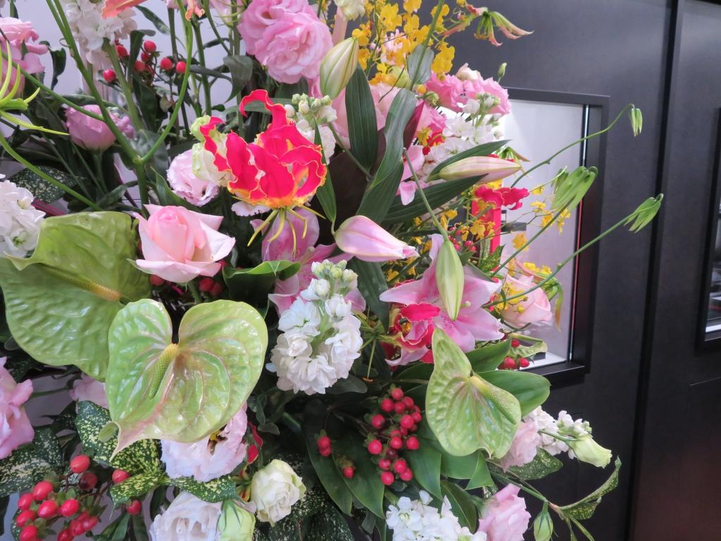 ゼニス ブティック大阪 グランドオープン たくさんのお花ありがとうございます! - ご案内 |IMG_0106