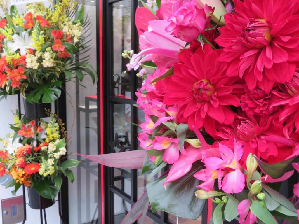 ゼニス ブティック大阪 グランドオープン たくさんのお花ありがとうございます! - ご案内 |IMG_0111