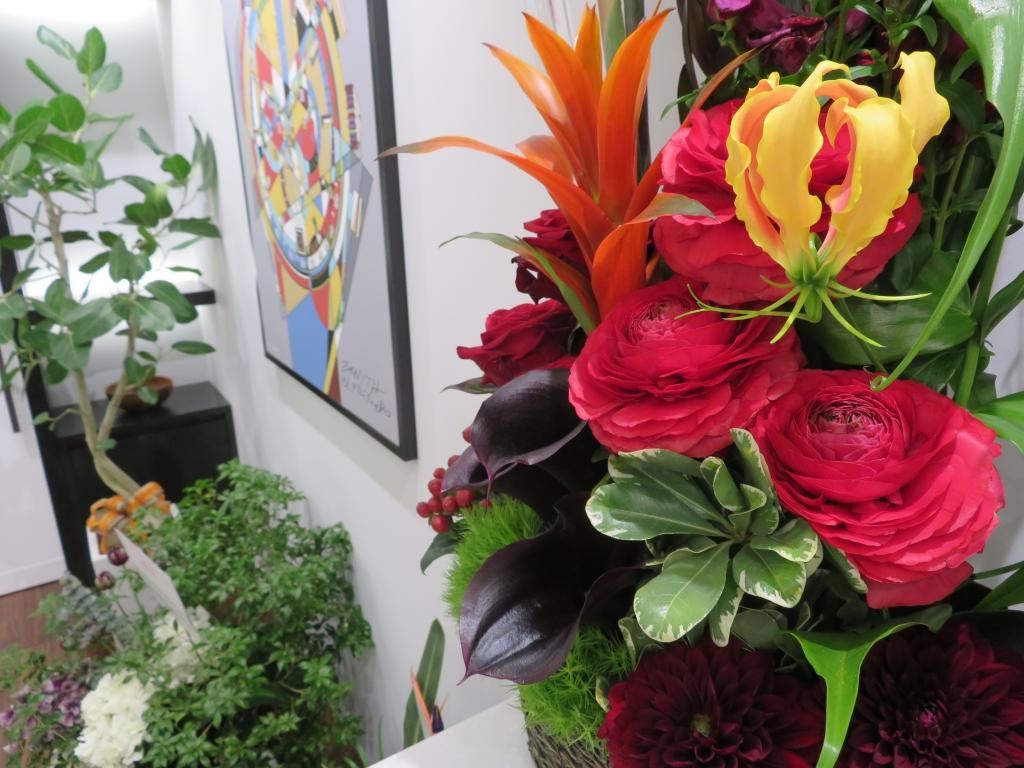 ゼニス ブティック大阪 グランドオープン たくさんのお花ありがとうございます! - ご案内 |IMG_0114