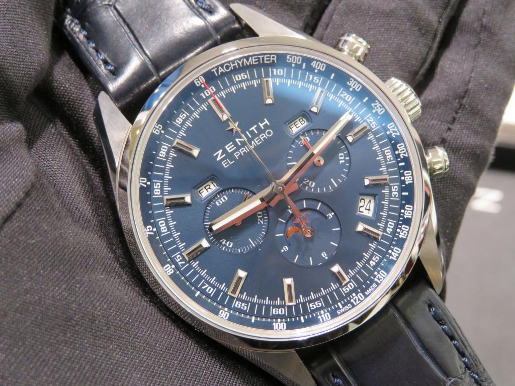 IMG_0200 ゼニスで唯一クロノグラフ、ムーンフェーズ、トリプルカレンダーを表示できる時計! - CHRONOMASTER
