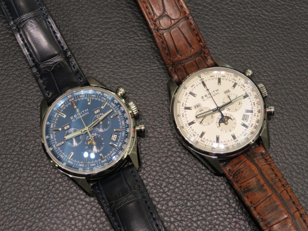 IMG_0203 ゼニスで唯一クロノグラフ、ムーンフェーズ、トリプルカレンダーを表示できる時計! - CHRONOMASTER