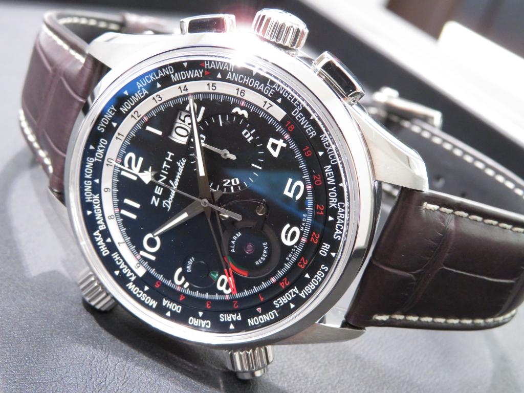 IMG_0291 ゼニスの多機能モデルといえばこのモデル!「パイロット ダブルマティック」のご紹介です! - PILOT