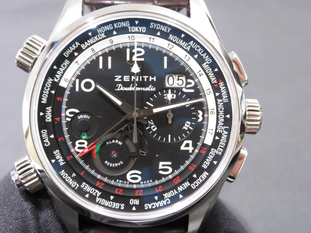 IMG_0294 ゼニスの多機能モデルといえばこのモデル!「パイロット ダブルマティック」のご紹介です! - PILOT