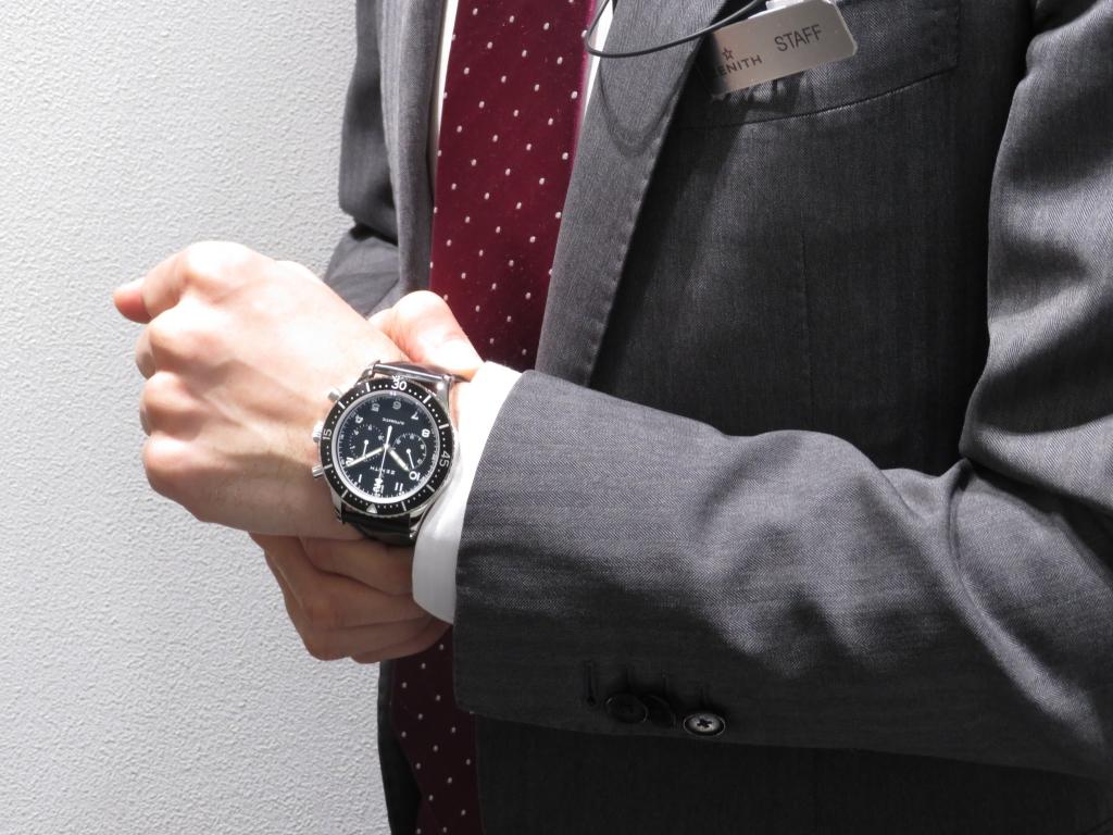 IMG_0324 1000本限定の復刻モデル「クロノメトロ TIPO CP-2」が店頭でご覧頂けます。 - PILOT