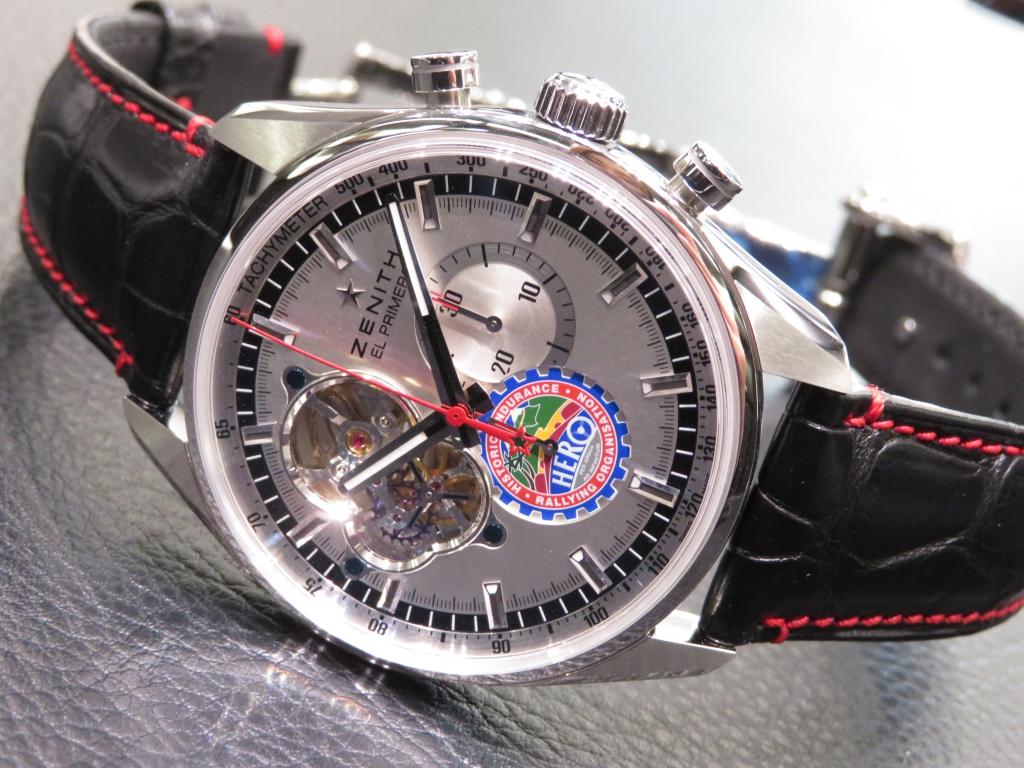 IMG_0572 ゼニスブティック大阪で現在ご覧頂ける、オープンダイヤルシリーズの本数限定モデル! - CHRONOMASTER