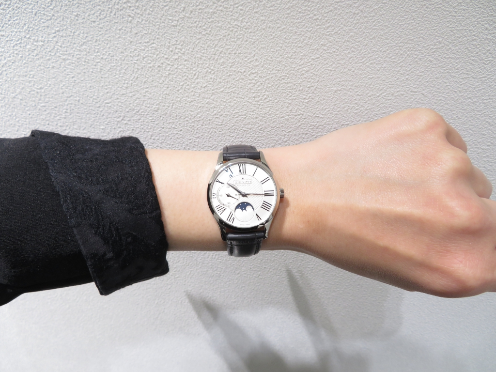IMG_0756 カッコイイ小ぶりの時計「ウルトラシン レディ ムーンフェイズ 33mm」のご紹介です♪ - ELITE