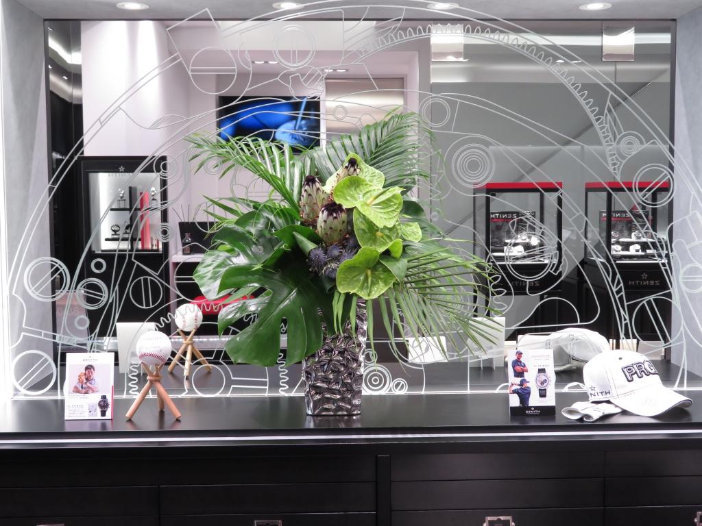ゼニスブティック大阪には時計はもちろん、店内にも見て欲しいところがたくさんあります♪ - ご案内 |IMG_0794