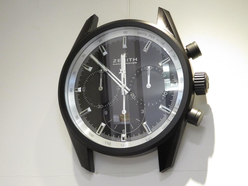ゼニスブティック大阪には時計はもちろん、店内にも見て欲しいところがたくさんあります♪ - ご案内 |IMG_0805