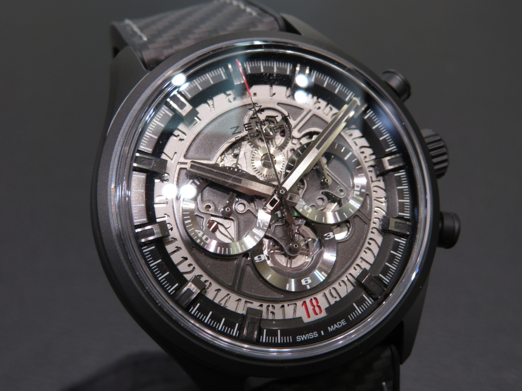 IMG_0852 スポーティなデザイン「エル・プリメロ スケルトン 45MM」のご紹介です☆ - CHRONOMASTER