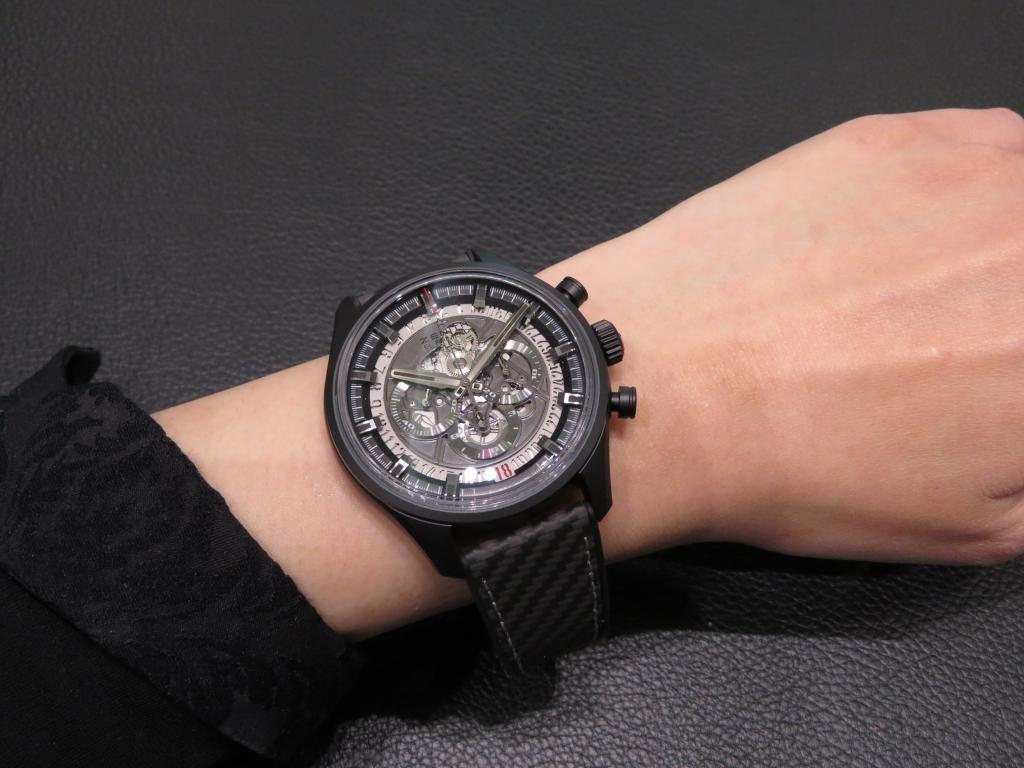 IMG_0853 スポーティなデザイン「エル・プリメロ スケルトン 45MM」のご紹介です☆ - CHRONOMASTER