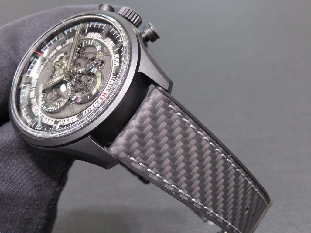 IMG_0855 スポーティなデザイン「エル・プリメロ スケルトン 45MM」のご紹介です☆ - CHRONOMASTER