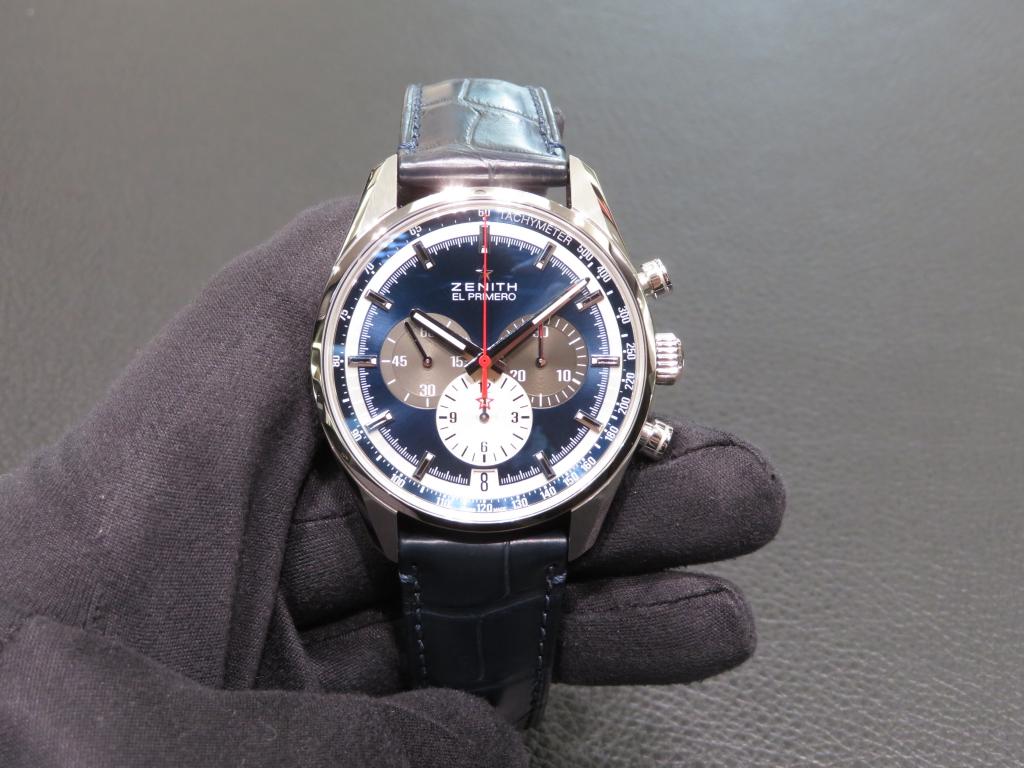 IMG_0993 濃いブルーが綺麗な「エル・プリメロ 42㎜」のご紹介♪ - CHRONOMASTER