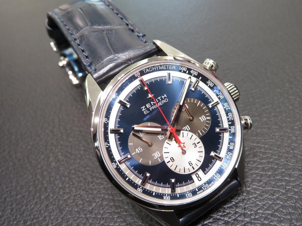 IMG_0998 濃いブルーが綺麗な「エル・プリメロ 42㎜」のご紹介♪ - CHRONOMASTER