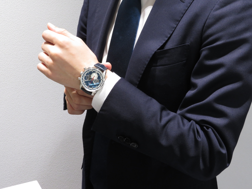 IMG_1003 濃いブルーが綺麗な「エル・プリメロ 42㎜」のご紹介♪ - CHRONOMASTER