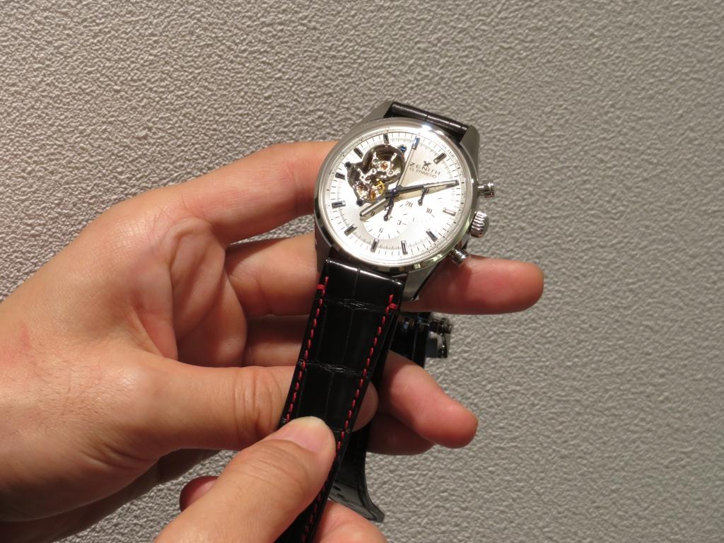 ストラップの組み合わせで時計の印象も変わります。 - CHRONOMASTER  IMG_1013