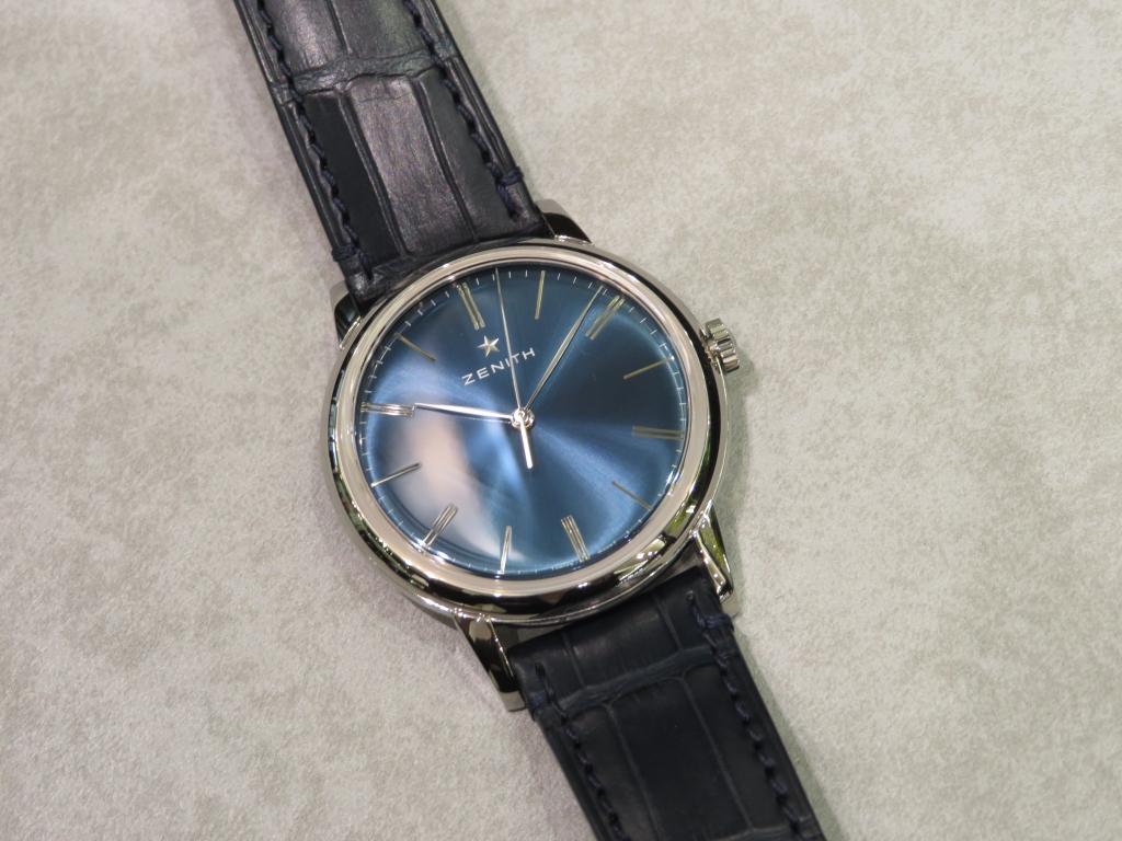 ブルーの綺麗すぎるダイヤル「エリート クラシック 39mm」のご紹介です! - ELITE |IMG_1347-1