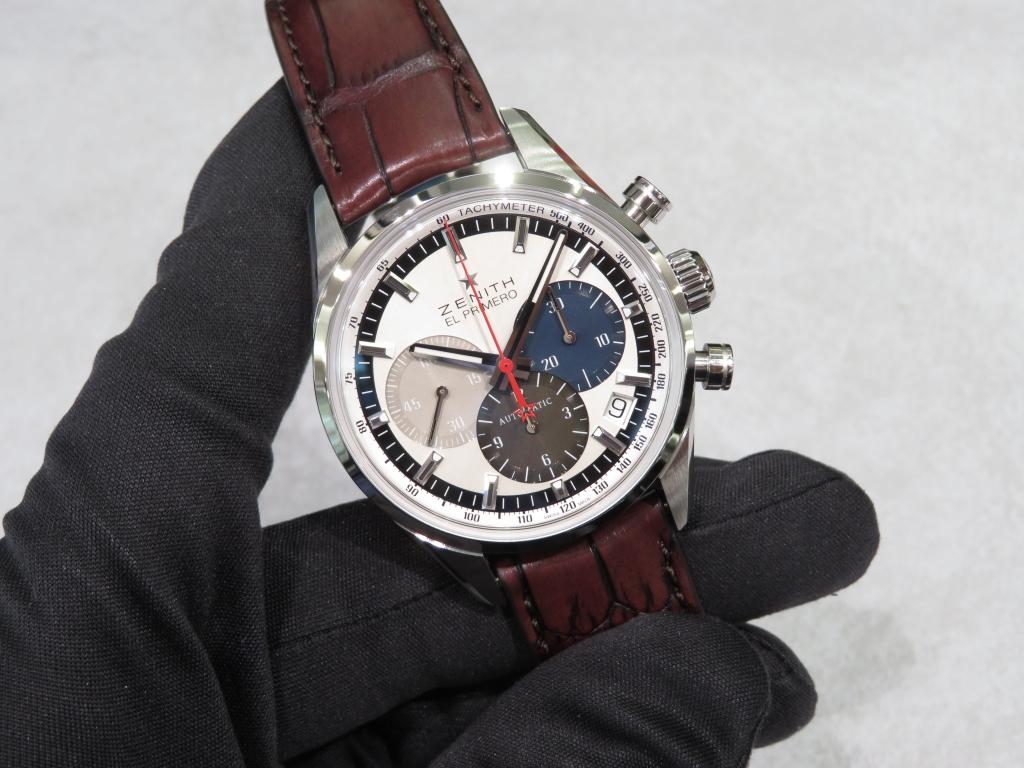 IMG_1616 エルプリメロ38㎜ブレスレットモデルとレザーモデル。 - CHRONOMASTER