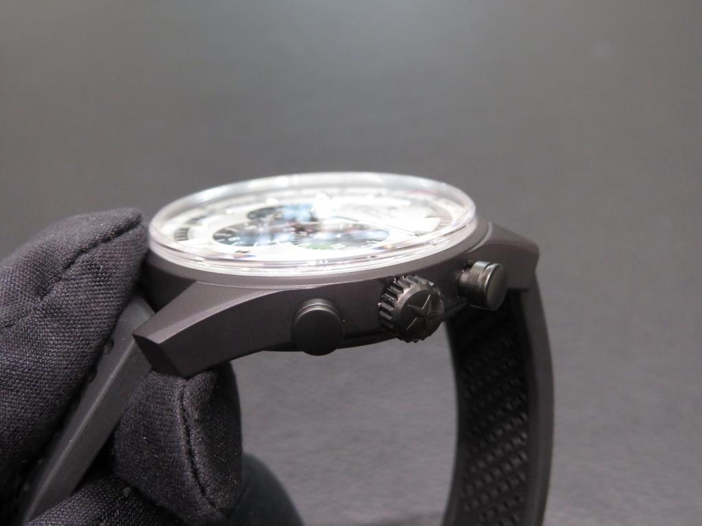 IMG_1813 軽くて傷の付きにくい新素材をケースに採用した「エル・プリメロ 42㎜」 - CHRONOMASTER