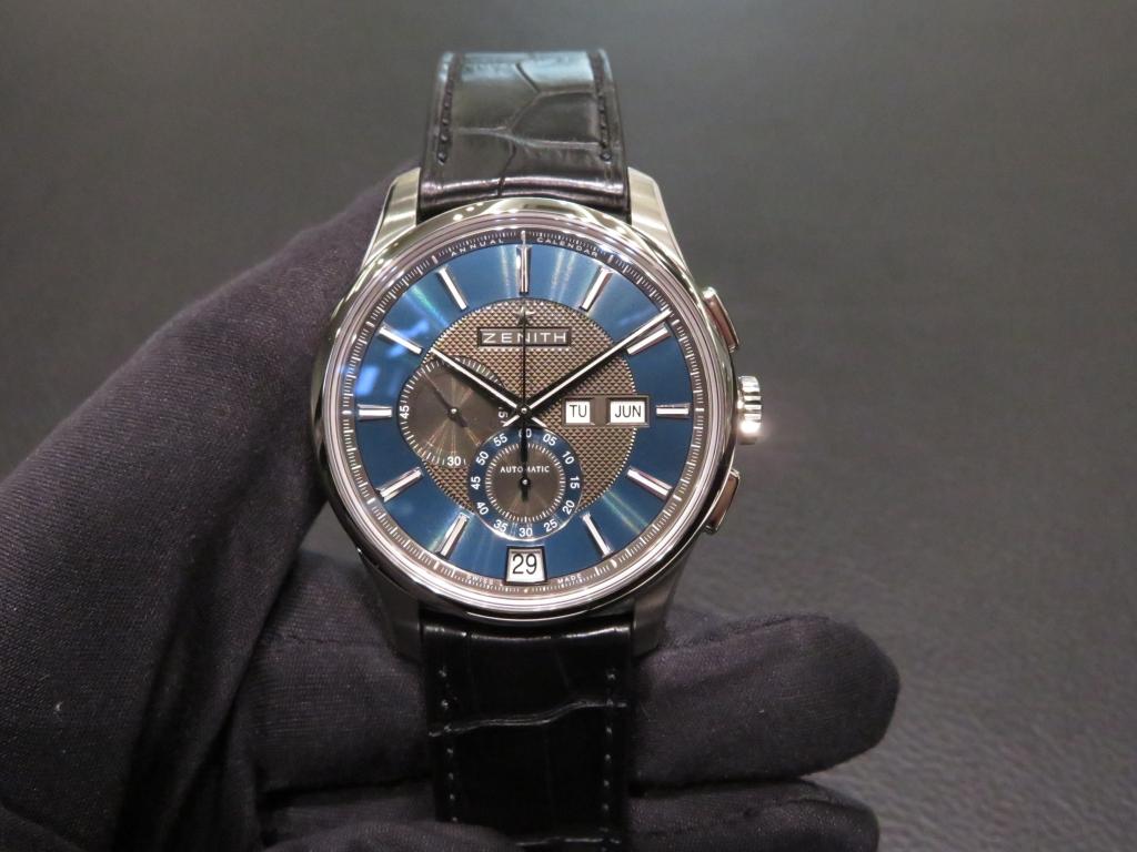 IMG_1947 便利なアニュアルカレンダー搭載の深いブルーが綺麗な「エル・プリメロ ウインザー」 - CHRONOMASTER