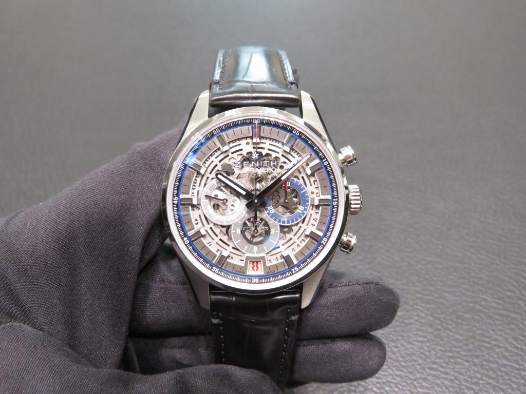 IMG_1991 より腕元にインパクトを。「エル・プリメロ フルオープン 42mm」 - CHRONOMASTER
