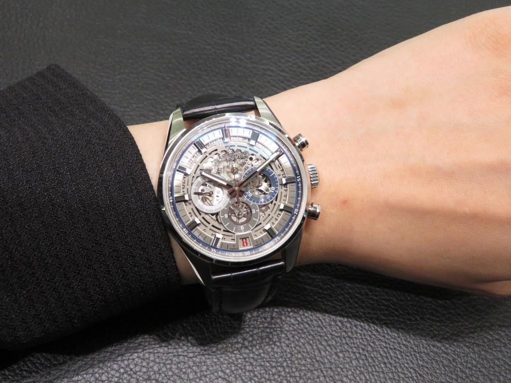 IMG_1992 より腕元にインパクトを。「エル・プリメロ フルオープン 42mm」 - CHRONOMASTER