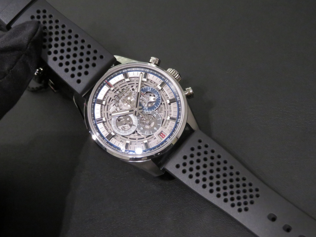 IMG_1996 より腕元にインパクトを。「エル・プリメロ フルオープン 42mm」 - CHRONOMASTER