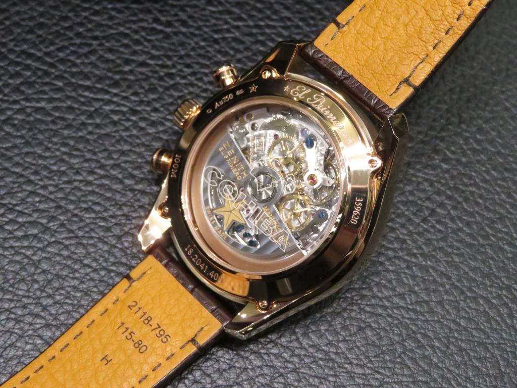 IMG_2009 個性的でエレガントな新作モデル「エル・プリメロ レジェンド オブ コイーバ」 - CHRONOMASTER