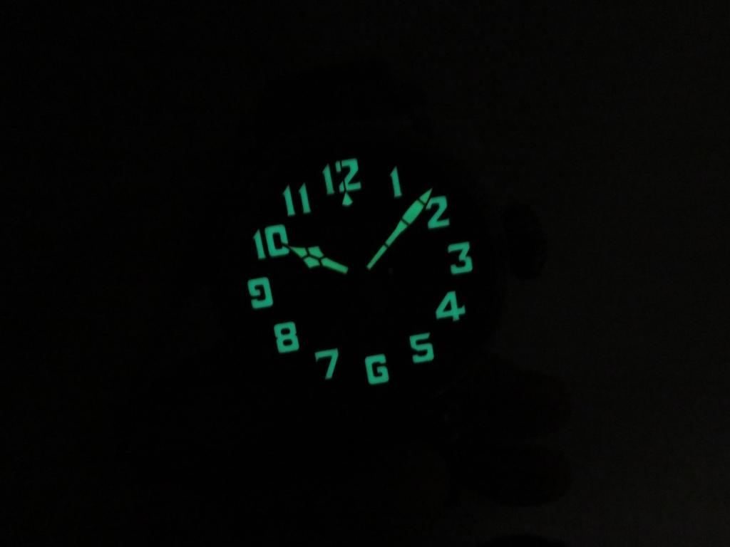 IMG_2521 暗闇の中のゼニス パイロットタイプ20エクストラスペシャルTON-UP - PILOT