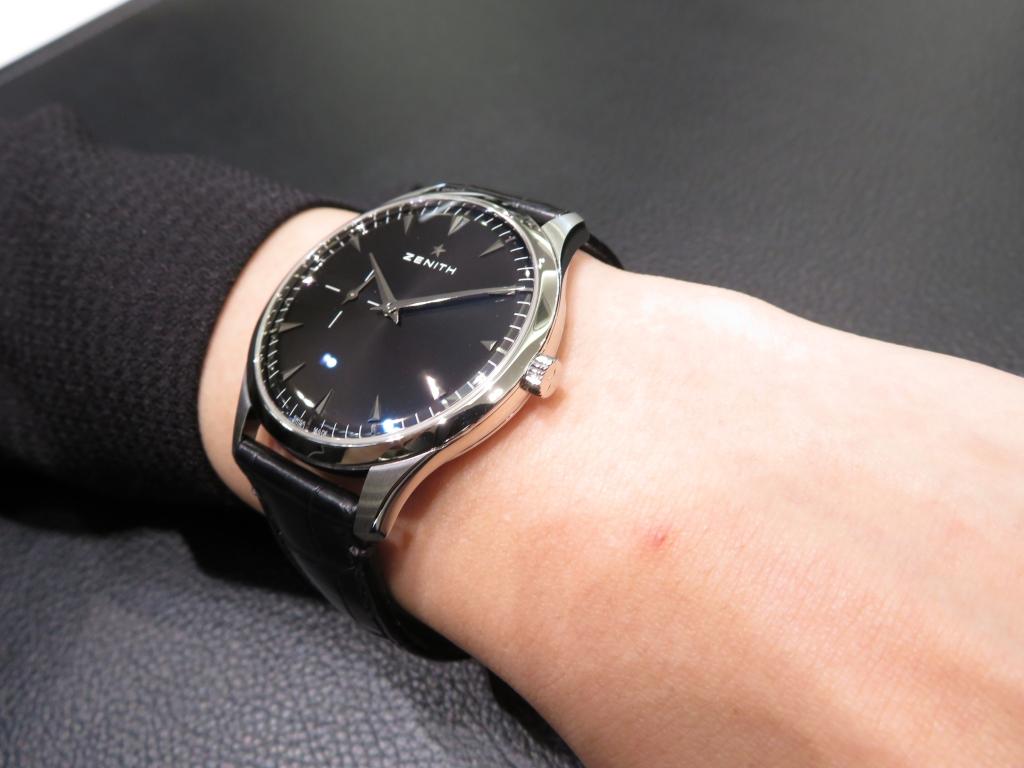 IMG_2677 超薄型クラシック時計、ゼニス「ウルトラ シン 40㎜」 - ELITE