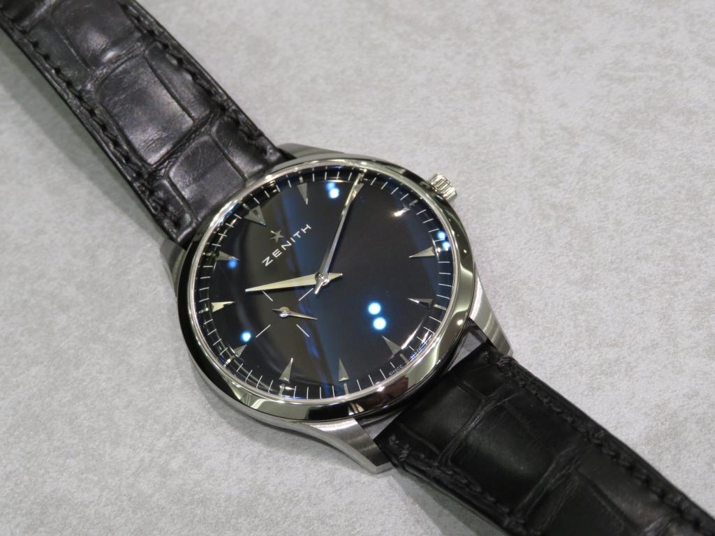 IMG_2682 超薄型クラシック時計、ゼニス「ウルトラ シン 40㎜」 - ELITE