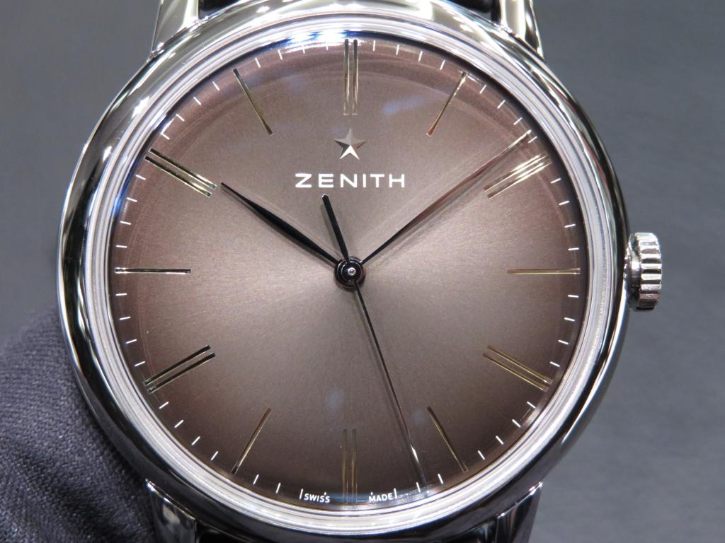 【ゼニス】シリーズで異なる針の形状 - DEFY CHRONOMASTER ELITE PILOT |IMG_2766