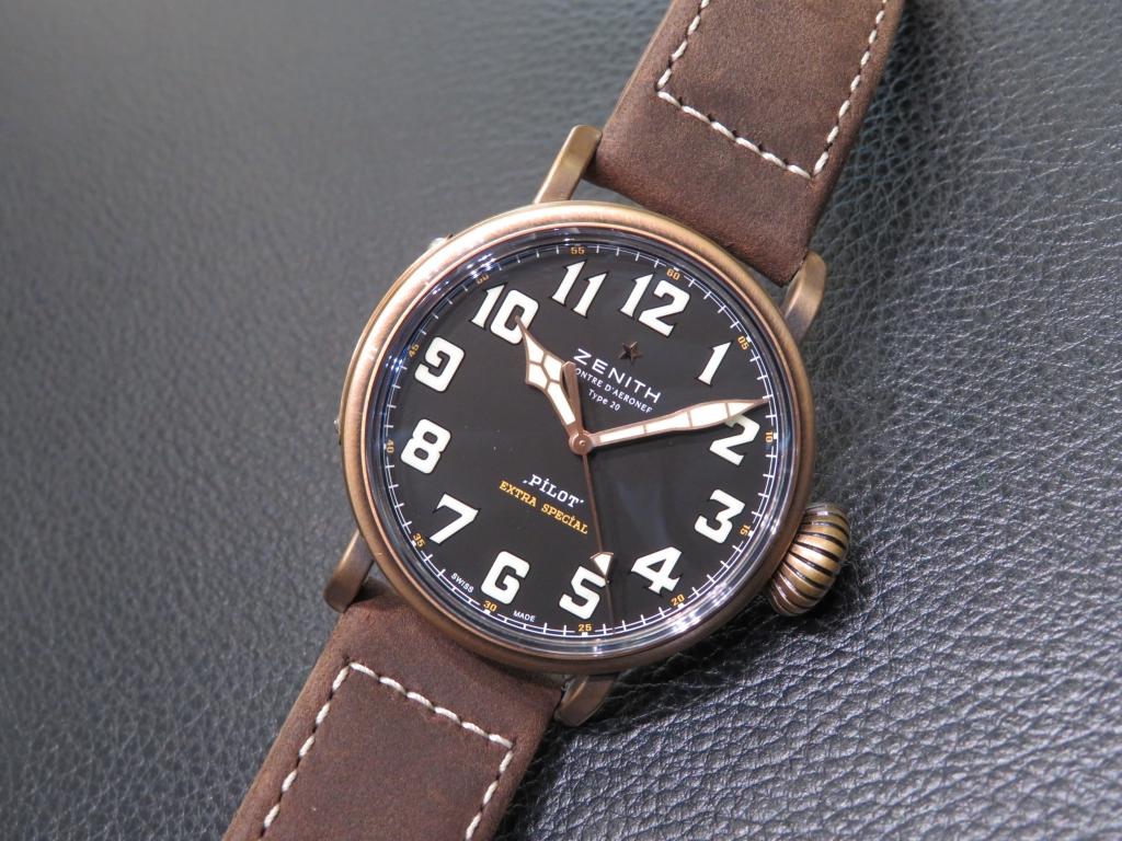 時計選びの参考までに~ゼニスのケース素材~ - DEFY CHRONOMASTER ELITE PILOT  IMG_2861