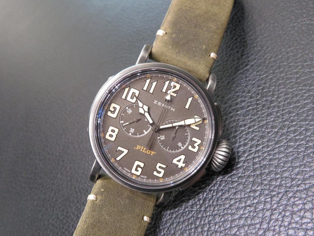 時計選びの参考までに~ゼニスのケース素材~ - DEFY CHRONOMASTER ELITE PILOT  IMG_2866
