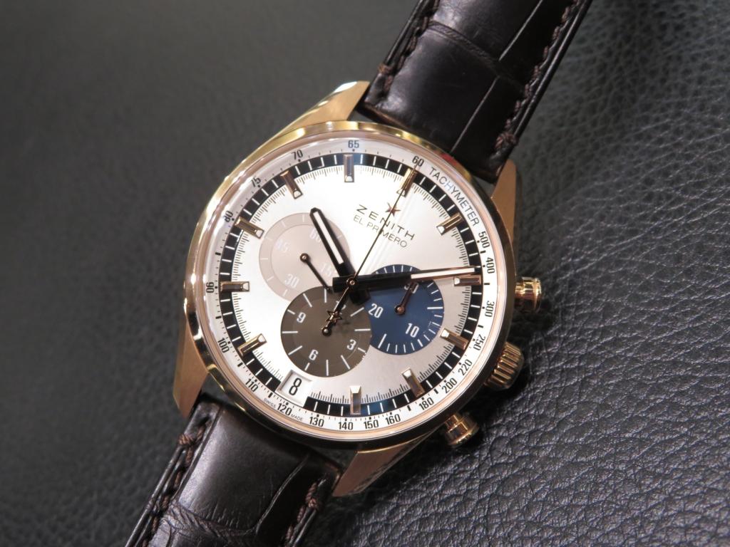時計選びの参考までに~ゼニスのケース素材~ - DEFY CHRONOMASTER ELITE PILOT  IMG_2869