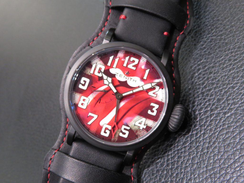 時計選びの参考までに~ゼニスのケース素材~ - DEFY CHRONOMASTER ELITE PILOT  IMG_2871-e1504933687942