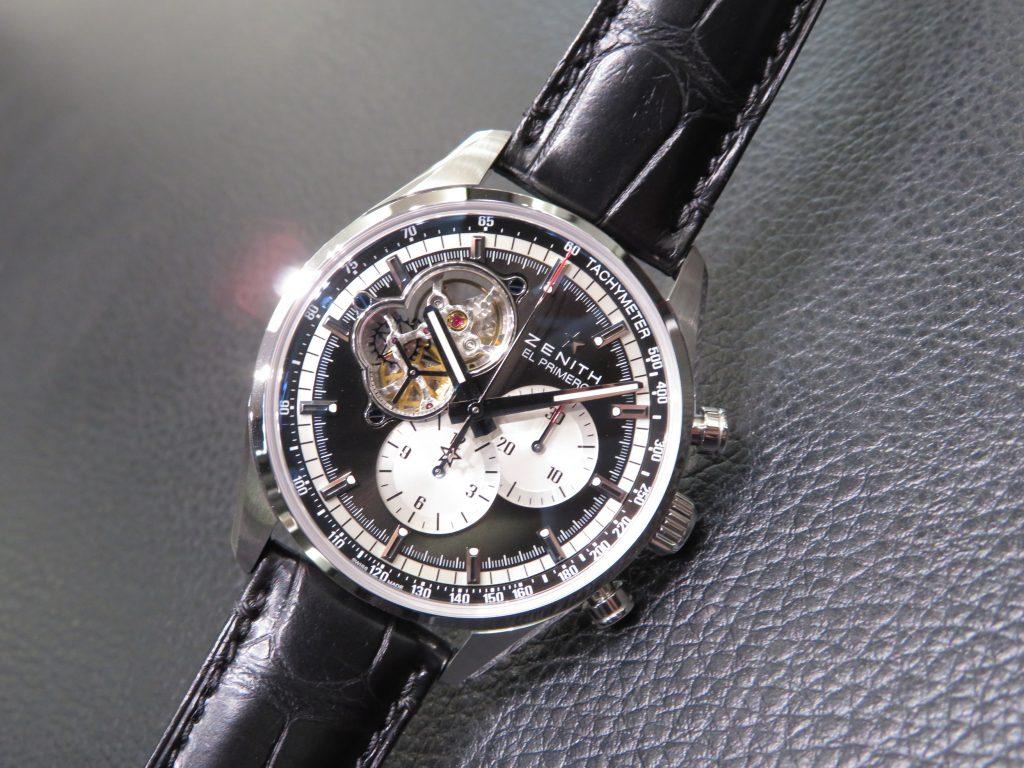 時計選びの参考までに~ゼニスのケース素材~ - DEFY CHRONOMASTER ELITE PILOT  IMG_2874-e1504933273945