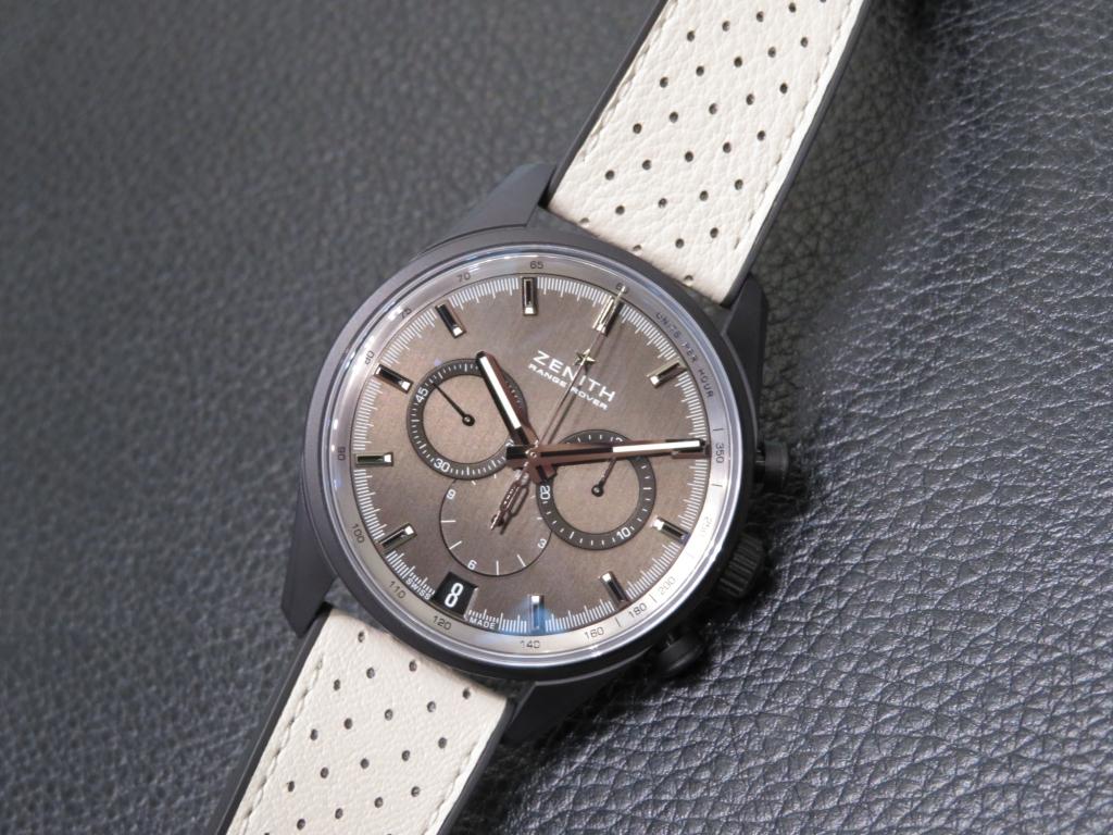 時計選びの参考までに~ゼニスのケース素材~ - DEFY CHRONOMASTER ELITE PILOT  IMG_2879