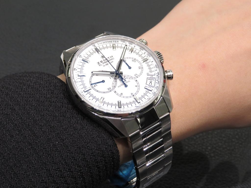 IMG_2916 美しいラッカー仕上げのホワイトダイヤル ゼニス「エル・プリメロ クラシック 36'000VpH」 - CHRONOMASTER