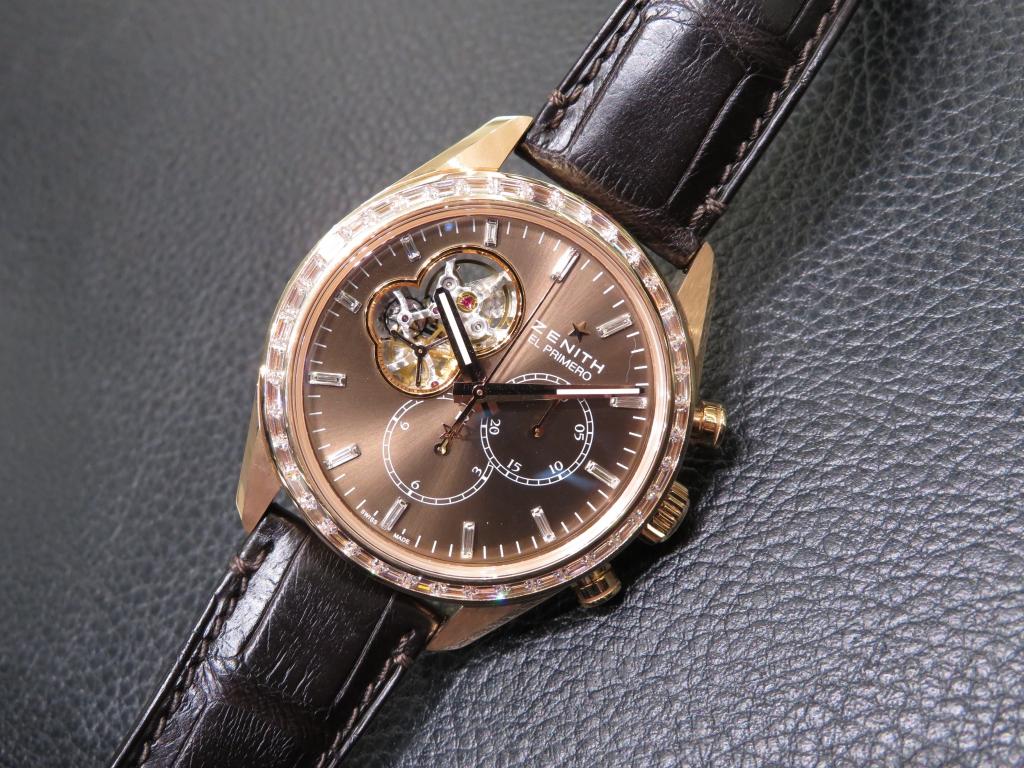 IMG_3280-1 バケットダイヤが美しい おすすめのゼニス特別限定モデル2本ご紹介! - CHRONOMASTER