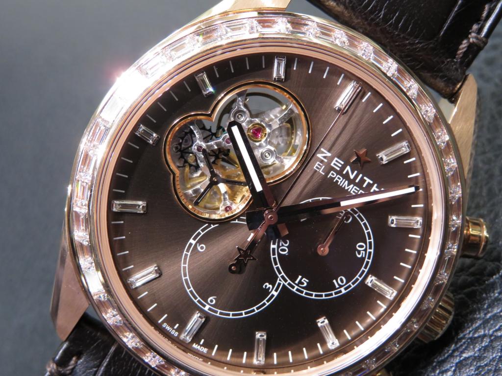 IMG_3283 バケットダイヤが美しい おすすめのゼニス特別限定モデル2本ご紹介! - CHRONOMASTER