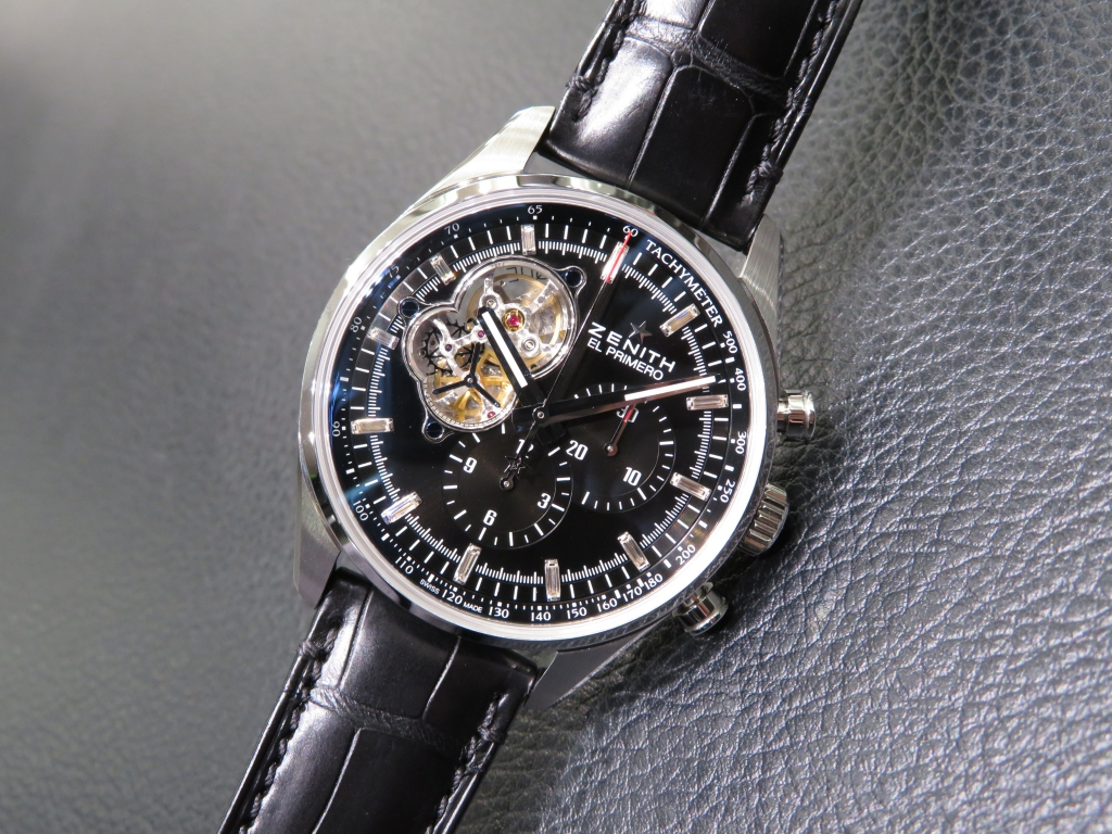 IMG_3285 バケットダイヤが美しい おすすめのゼニス特別限定モデル2本ご紹介! - CHRONOMASTER