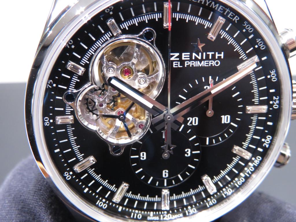 IMG_3288 バケットダイヤが美しい おすすめのゼニス特別限定モデル2本ご紹介! - CHRONOMASTER