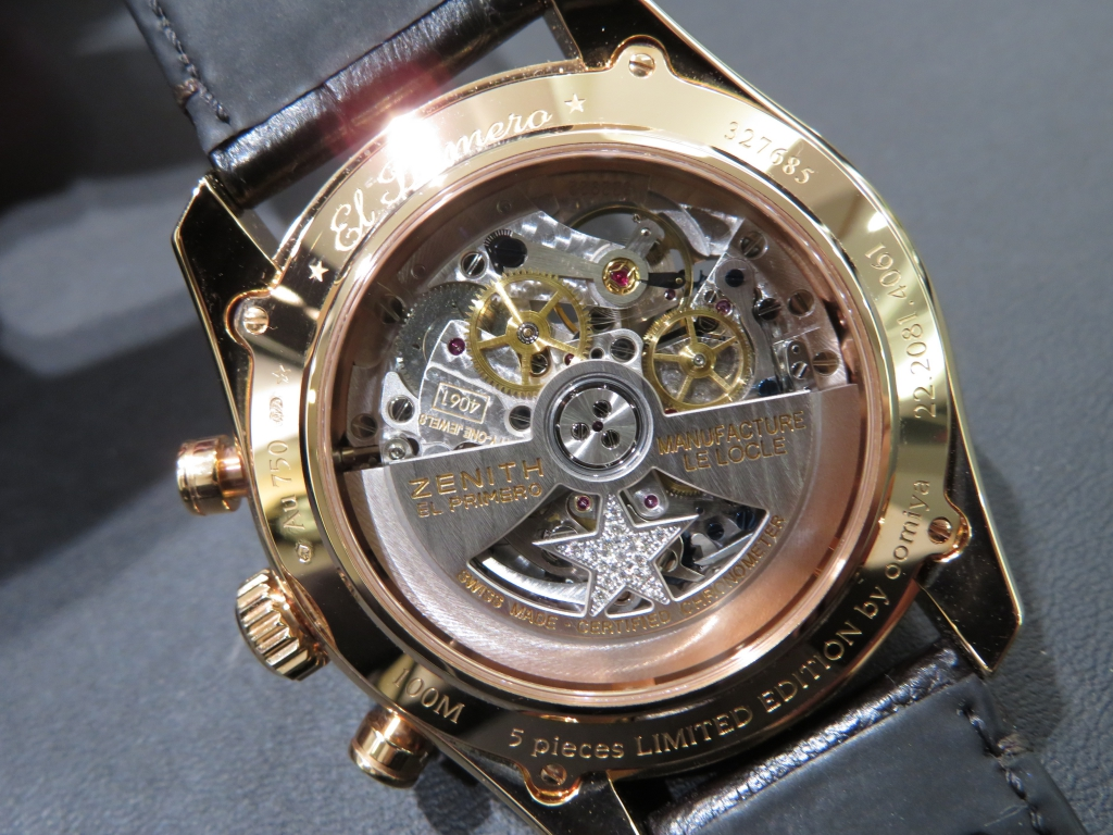 IMG_3294 バケットダイヤが美しい おすすめのゼニス特別限定モデル2本ご紹介! - CHRONOMASTER