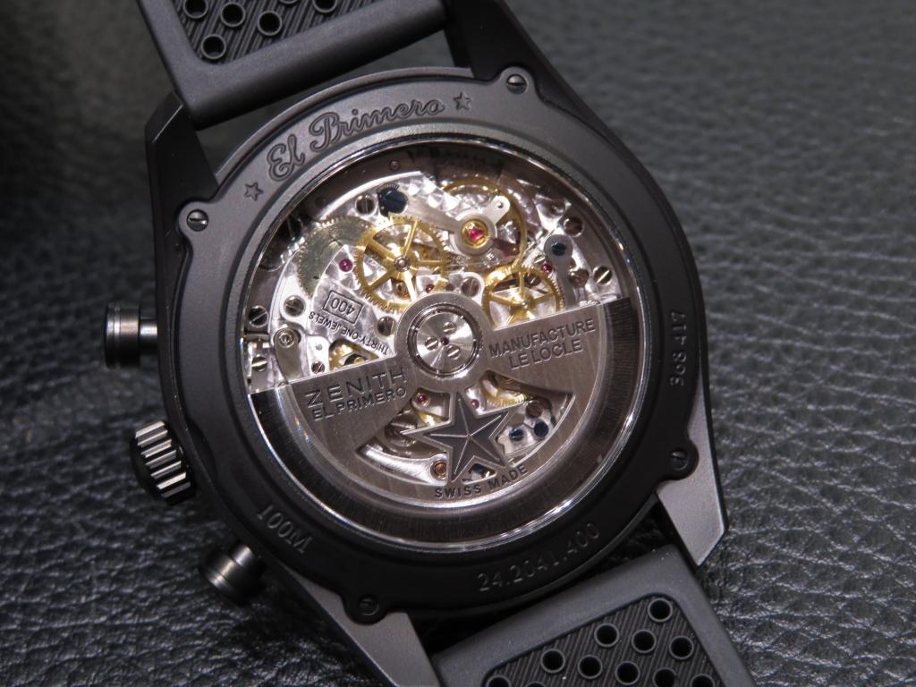 IMG_3510 ゼニスのきれいめスポーティモデル エル・プリメロ 42㎜ - CHRONOMASTER