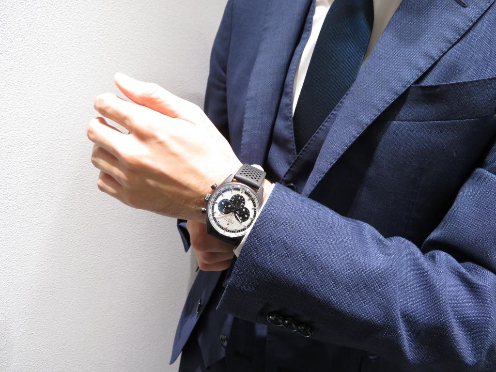 IMG_3515 ゼニスのきれいめスポーティモデル エル・プリメロ 42㎜ - CHRONOMASTER