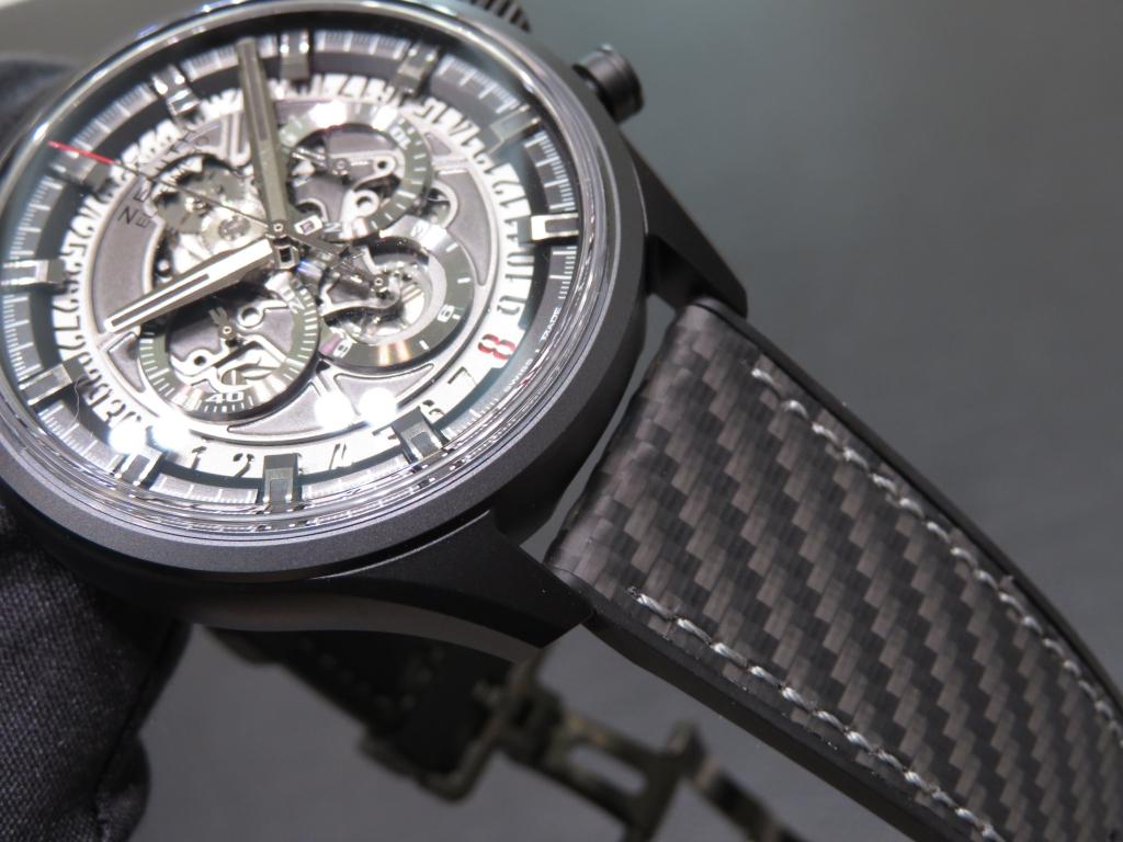 IMG_3615 ブラックがカッコイイ!ゼニスのスポーティモデル エル・プリメロ スケルトン - CHRONOMASTER
