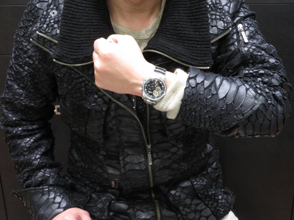 T.S様、有難うございます!ゼニスブティック大阪でしか手に入らない20本限定の「エル・プリメロ オープン」 - CHRONOMASTER |IMG_4236