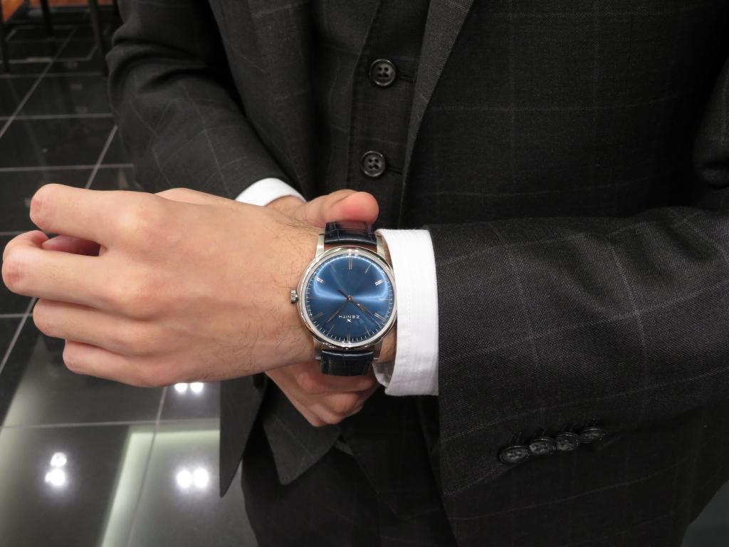 IMG_4324 スマートにシンプル時計。エリート6150 100時間パワーリザーブ機能 - ELITE