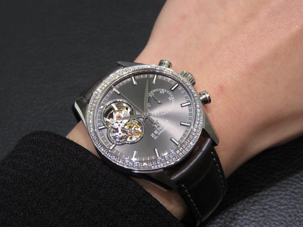 IMG_4457 カッコ良さと女性らしさを兼ね備えたモデル エル・プリメロ オープン レディ - CHRONOMASTER