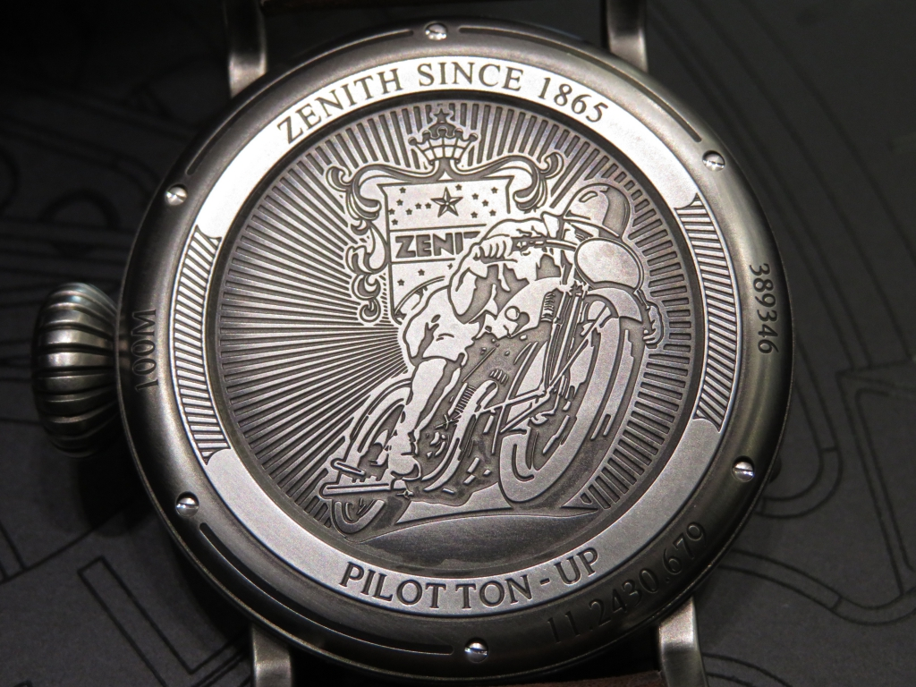 【ゼニス 1st アニバーサリーフェア開催中】バイクが似合うワイルドな時計!パイロット トンアップ - PILOT  IMG_4665
